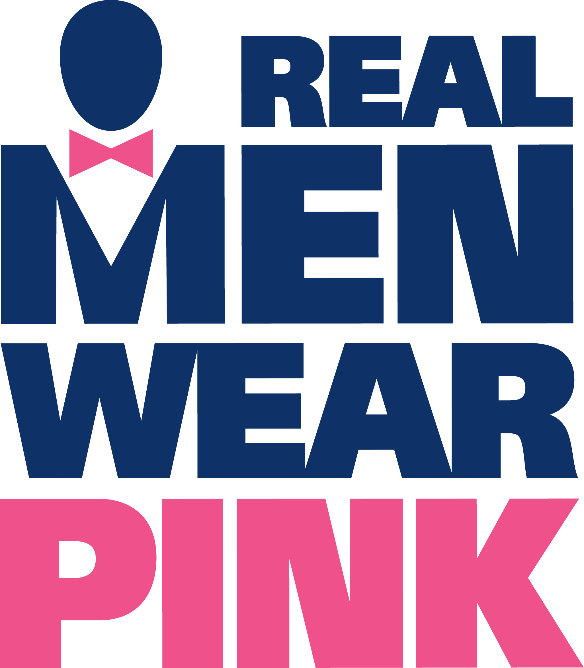 Real Men Wear Pink logo