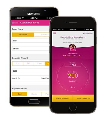 Making Strides App